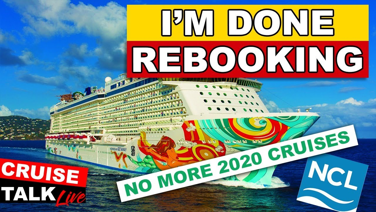 🔴CRUISE TALK LIVE! | No more booking 2020 for now. What IS Going On??