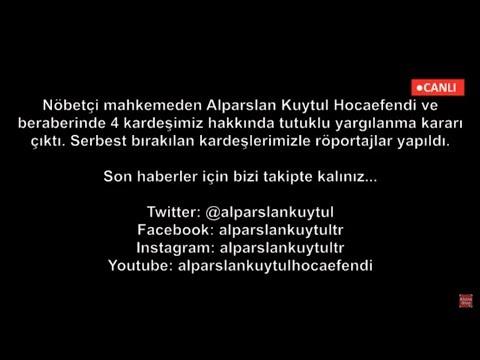 CANLI YAYIN | Karar Açıklandı | Alparslan Kuytul Hocaefendi'nin Mahkemesinden