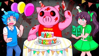 The Roblox Piggy Birthday Party...