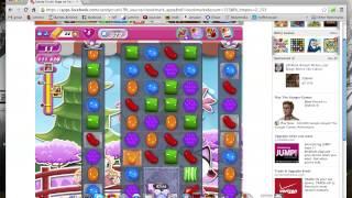 Candy Crush Saga level 372 - 3 stars