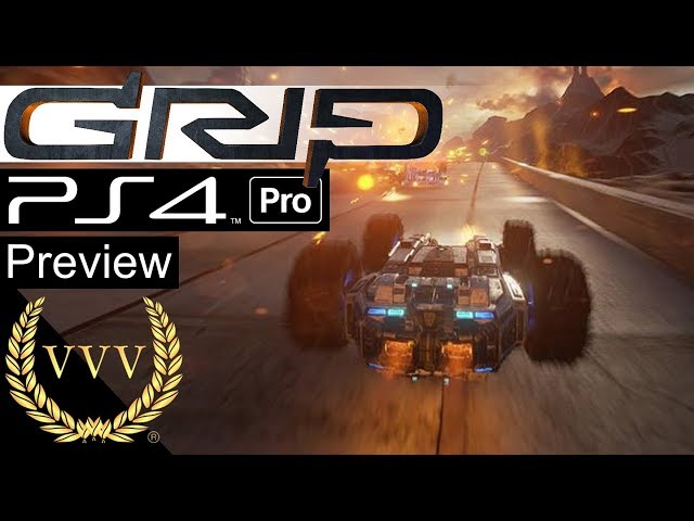 GRIP: Combat Racing PS4 Pro Gameplay