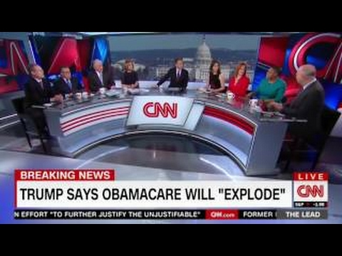 'Worst 100 days we've ever seen' CNN panel DESTROYS Donald Trump AFTER Healthcare FAIL 1