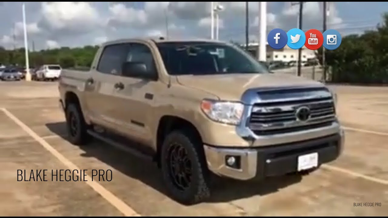 2017 Toyota Tundra Crewmax Tss Walk Around Video