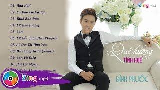 que huong tinh hue - dinh phuoc album