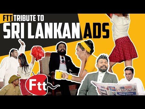 FTT Tribute to Sri Lankan Ads  A Capella Mashup