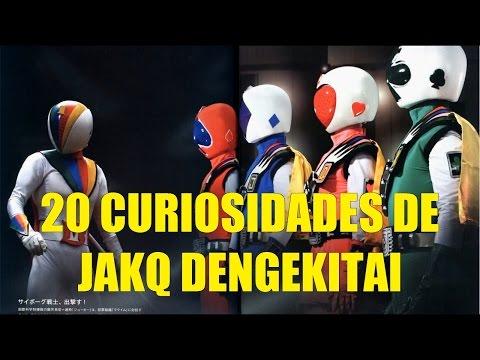 20 Curiosidades de JAKQ Dengekitai (Super Sentais Power Rangers Japoneses)