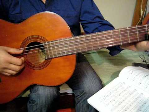 Bai Tap 5 Guitar - Bai Khong Ten So 4 - Vu Thanh An