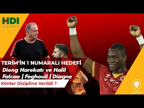 Terim'in 1 Numaralı Transfer HEDEFİ   Dieng Harekatı   Halil   Falcao ve Feghoul