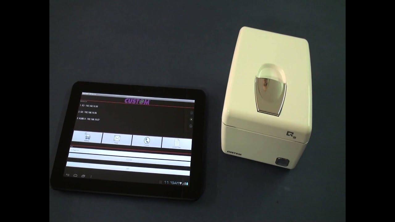 Q3X | POS Printer | Custom SPA