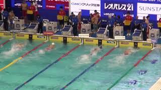 陶山周平 男子100m自由形 予選 FINAスイミングワールドカップ2017東京大会