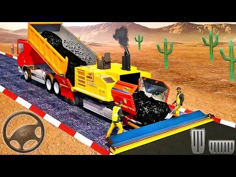 Highway Builder Road Construction Simulator - Android GamePlay