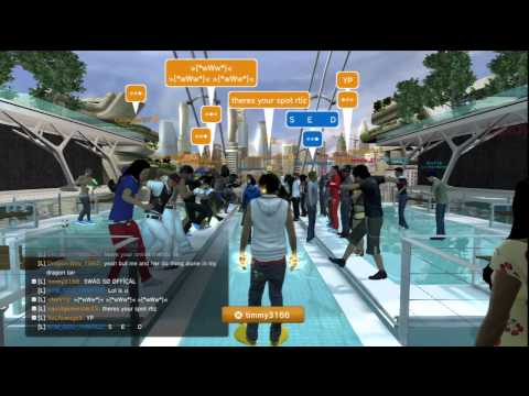 Wanted World Wide Taking Over Hub Playstation Home Fam