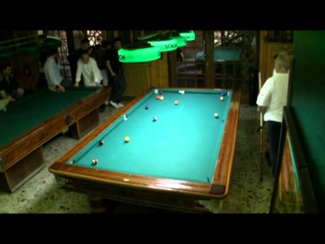 Campionato Triveneto Biliardo 2011 Pool 8-15 Finale Master Bazzana-Zambonin seconda partita