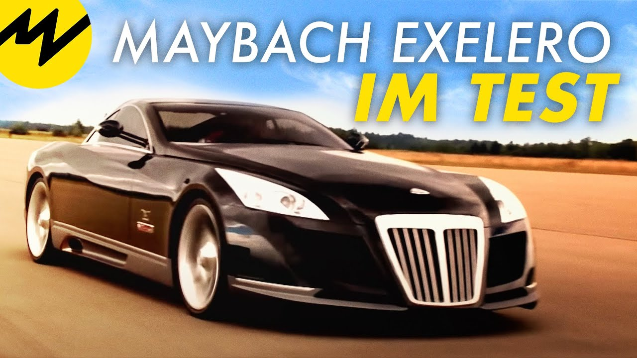 Maybach Exelero Test 1 of 1 I Motorvision TV - YouTube
