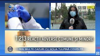 Stirile Kanal D (26.01.2021) - MAI MULTE CAZURI CU NOUA TULPINA COVID-19! | Editie de pranz