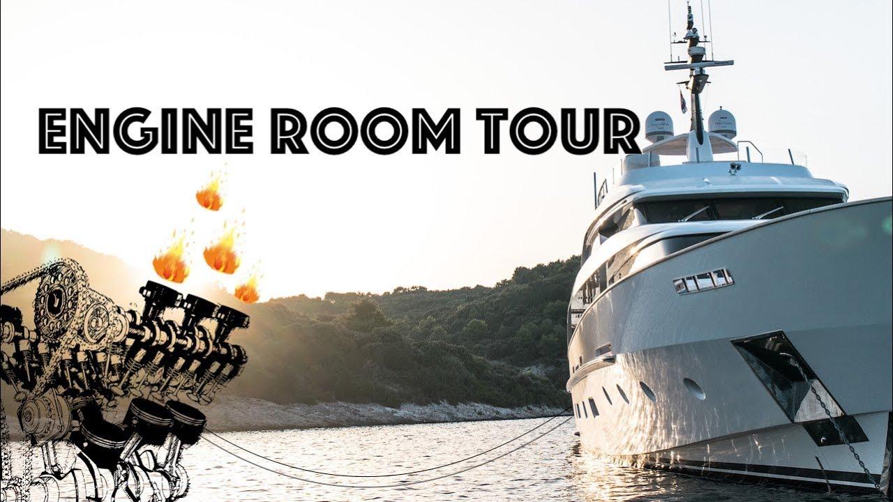 Super Yacht Engine Room Tour