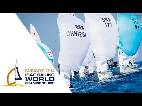 Santander 2014 - Women's 470 Medal Race Replay