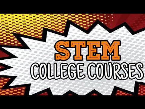 STEM Strand Course List In College