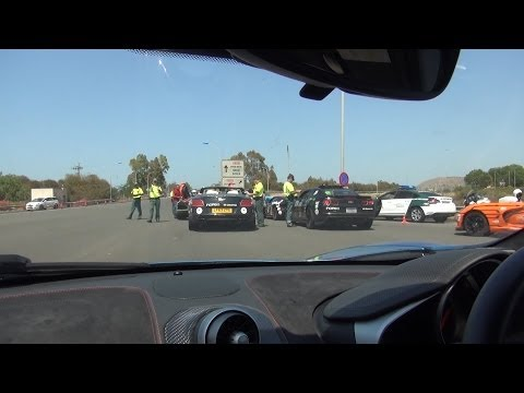 The Day of Police in Spain [Gumball 2014 Day 7]