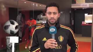 Belgian comedy show plays comedy Karaoke with national Football team