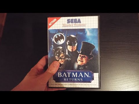 Batman Returns, (7112), Sega Master System, Longplay, Completed, 1992, sms, gameplay, end, DC Comics