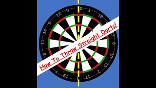 How to throw daŗts 1 # - keeping them straight.