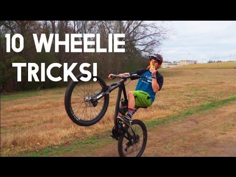 10 Different MTB Wheelies!