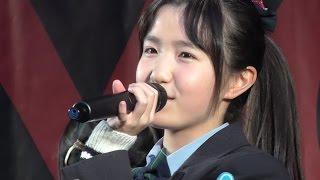 AKB48 Team8 「Green Flash」 2015 12/06 Gazoo横浜イベント日曜日(2回目)(本田仁美カメラ)