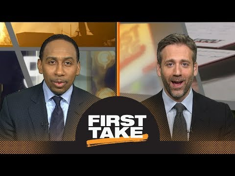 Max tells Stephen A. he's 'crazy' for theory on LeBron James losing to Celtics | First Take | ESPN