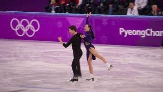 Tessa Virtue Scott Moir PyeongChang Olympics Short Dance Practice 18/02/18