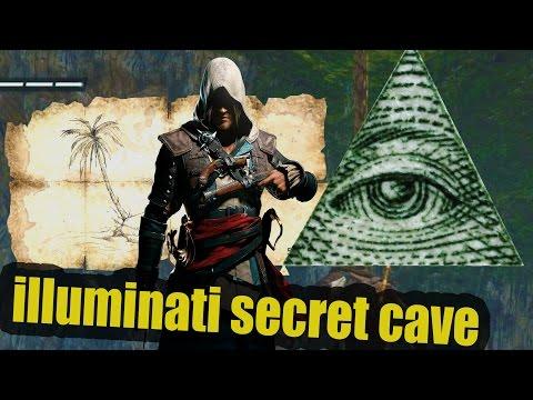 """Is this Illuminati Secret cave?""Assassins Creed IV Black Flag"