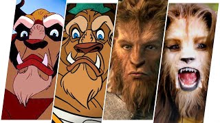 Beast Evolution in Movies & TV(Beauty and the Beast)
