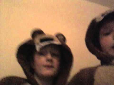 Double bear onesie vlog