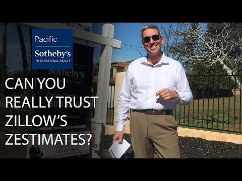 San Diego Real Estate Agent: Can You Really Trust Zillow's Zestimates?