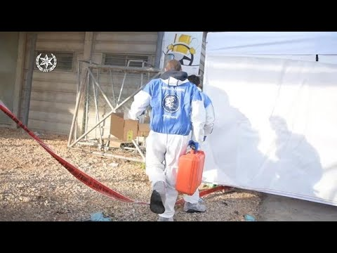 תיעוד חקירת הרצח של יארא איוב מכפר גוש חלב