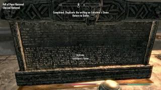 The elder scrolls 5 skyrim How to get copy of calcelmo stone