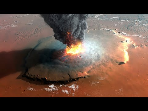First Evidence of a Recently Active Volcano on Mars!