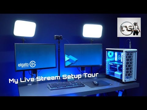 How To Stream With Ipad Using Elgato Hd60s- My Live Stream Setup Full Tour-watch Till End