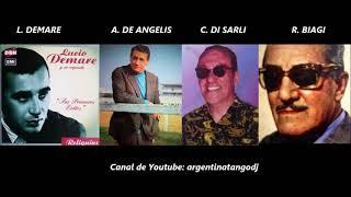 10 TANGAZOS - LUCIO DEMARE - ALFREDO DE ANGELIS - CARLOS DI SARLI - RODOLFO BIAGI