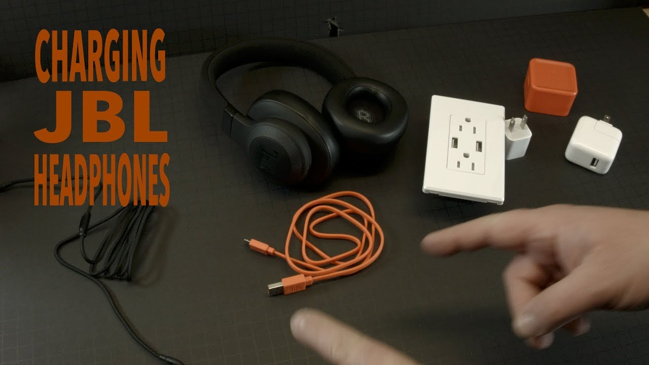 How To Charge a JBL Bluetooth Headphone