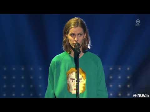 """Daði Freyr – """"Hvað með það?"""" (Live Söngvakeppnin 2017 - Semi Final 2)"""