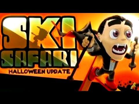 Ski Safari - Halloween Update - IPhone IPad Android Game