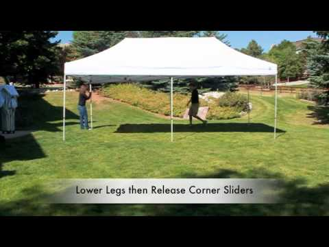 Undercover Canopy 10 x 20 Commercial Grade Aluminum Party Canopy - YouTube & Undercover Canopy 10 x 20 Commercial Grade Aluminum Party Canopy ...