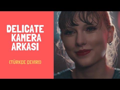 """Taylor Swift - """"Delicate"""" Kamera Arkası"""