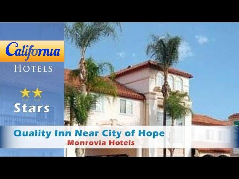 Quality Inn Near City Of Hope, Monrovia Hotels - California