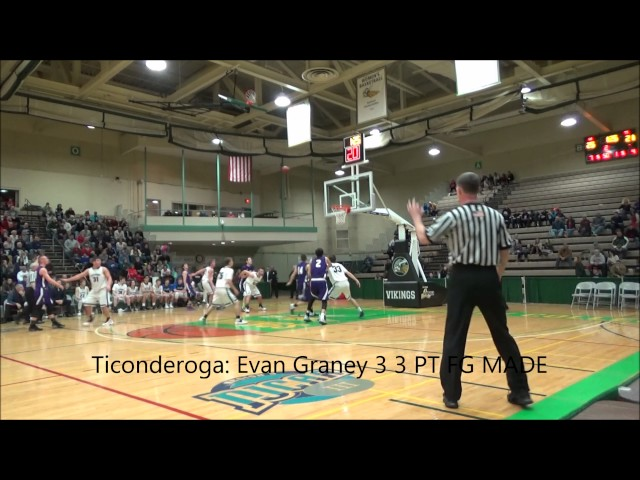 Game Highlights Boys' Varsity: Ticonderoga vs Lake George