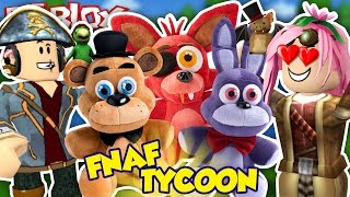 Roblox ITA - Five Nights At Freddy's Tycoon - #44 - Halloween Plushies Tycoon