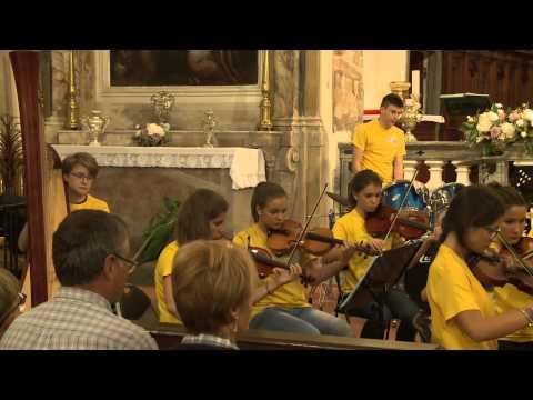 Orchestra I Piccoli Musici - Dir Ugo Gelmi - Il gladiatore Zimmer arr. Ugo Gelmi