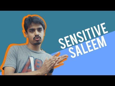 Sensitive Saleem | Comedy Skit | Bekaar Films | Maskharay