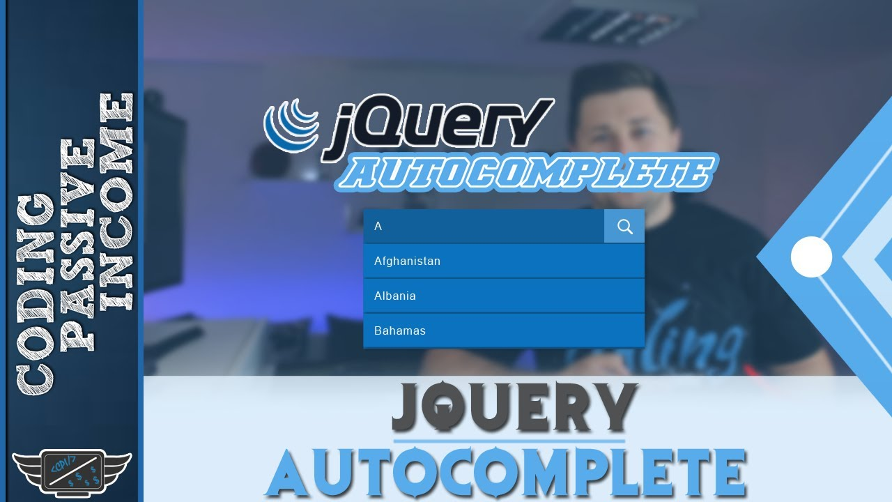 Jquery tutorial jquery autocomplete with ajax php mysql youtube jquery tutorial jquery autocomplete with ajax php mysql baditri Choice Image